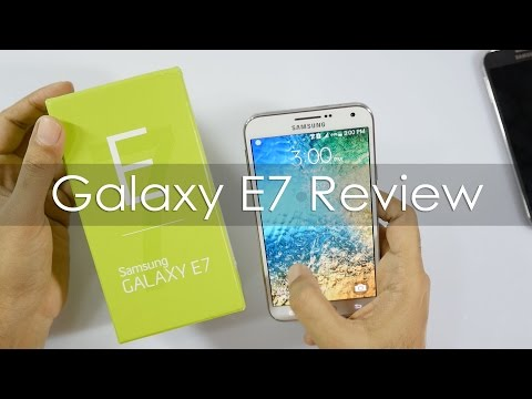 Samsung Galaxy E7 Full Review Inc Camera Review