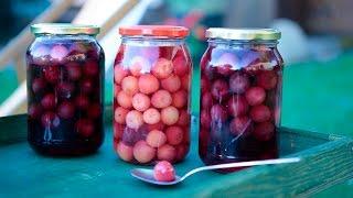 Como fazer cerejas em calda