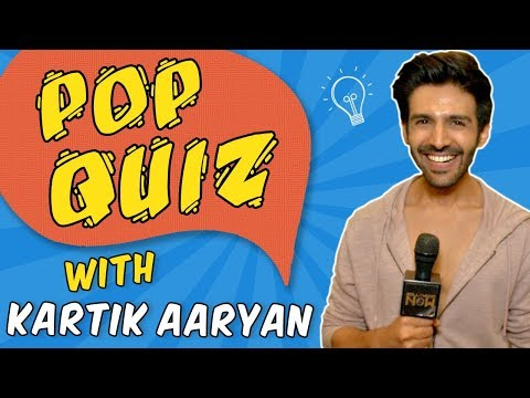 Kartik Aaryan Takes The Funny Pop Quiz | Sonu Ke T