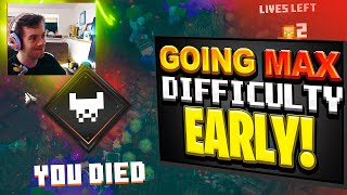 MAX DIFFICULTY EARLY | Minecraft Dungeons Episode 2