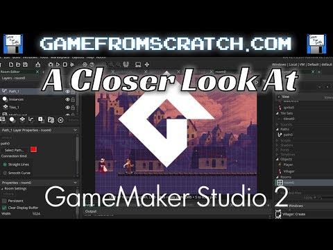 A Closer Look At GameMaker Studio 2