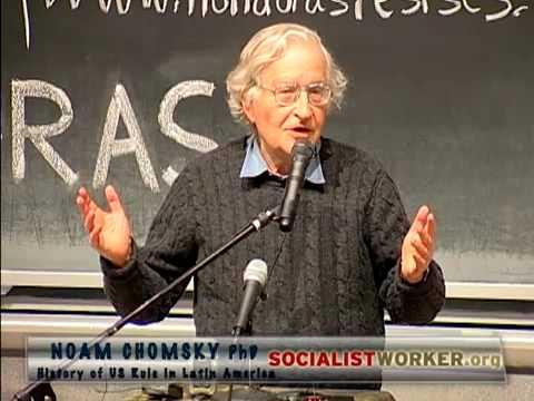 Noam Chomsky - Haiti, Honduras -  History of US Rule in Latin America.