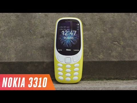The Nokia 3310 is back (видео)