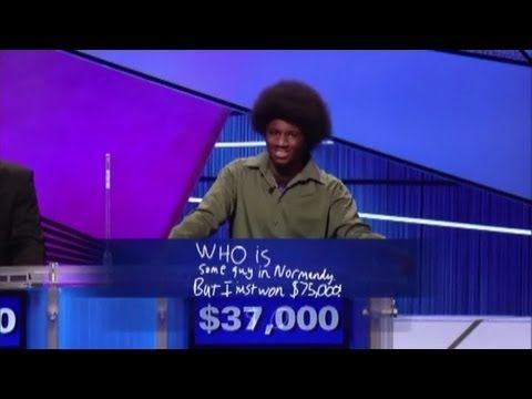 Exciting - http://www.chadmosher.com Copyright Jeopardy Productions, Inc. The last day of the Jeopardy! Teen Tournament finals produced some exciting (and amusing) mome...