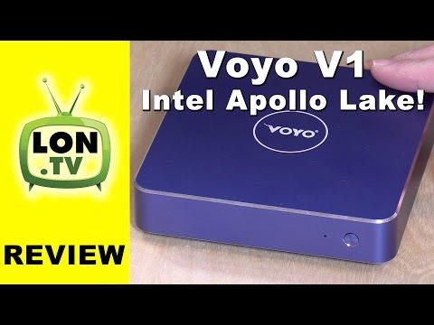 Voyo V1 Mini PC Review - New Intel Apollo Lake Pentium N4200 Processor
