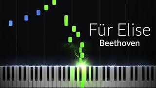 Fur Elise - Ludwig van Beethoven [Piano Tutorial]  Ноты и М�Д� (MIDI) можем выслать