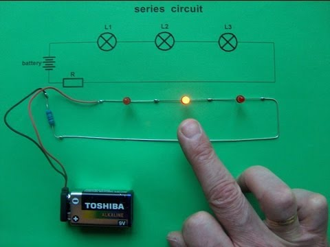 Series circuit - 3 LEDs & 0 switches - new idea