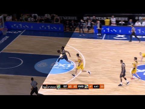 Mate desde el tiro libre de Jordan... Mickey  Liga Endesa 2019-20