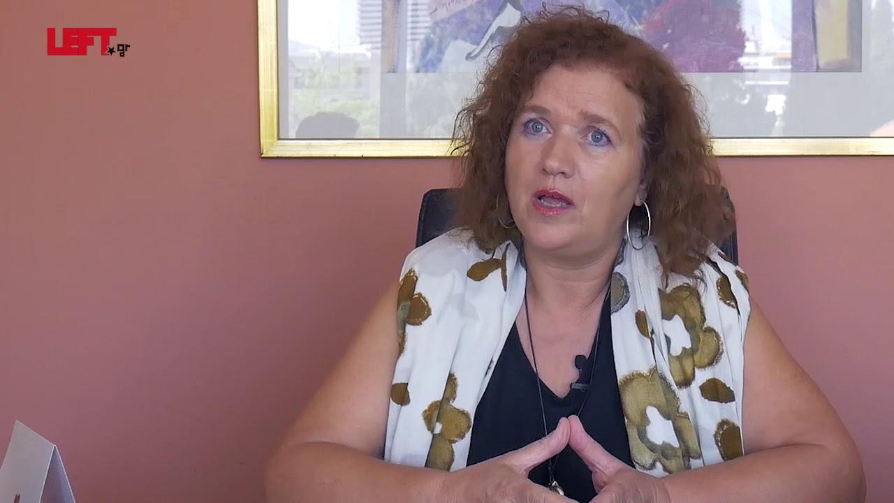 Σοφία Κωνσταντέλια, πρόεδρος Κέντρου Κοινωνικής Προστασίας της Περιφέρειας Αττικής