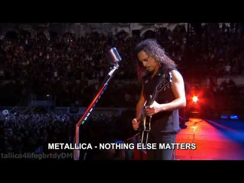 Nothing - ( SUSCRIBETE ) .. nothing else matters de metallica traducida subtitulada al español , video del concierto realizado en francia , En el ARENA DE NIMES en el ...