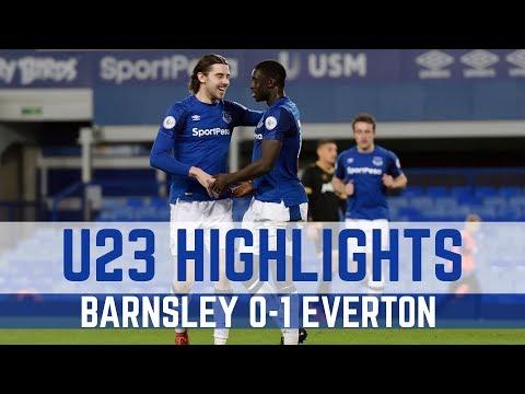 Video: U23 HIGHLIGHTS: BARNSLEY 0-1 EVERTON