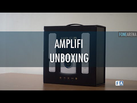 Ubiquiti AmpliFi HD Mesh Wi-Fi Router Unboxing and Demo