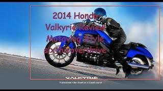 6. 2014 Honda Valkyrie Review--Motovlog Style