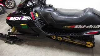 1. 1998 Ski Doo Mach Z for sale $1,699 U3315