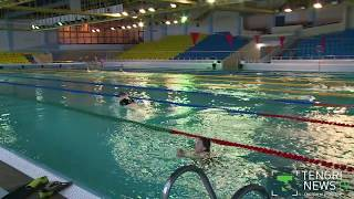 Михаил Еременко - пловец без рук