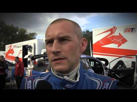 eSKY.pl Rally Team Łukasz Habaj, Piotr Woś, Rajd Nadwiślański [piątek]