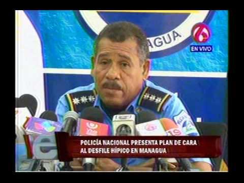 Policía Nacional da a conocer medidas de seguridad durante hípicos del 1ro de agosto en Managua