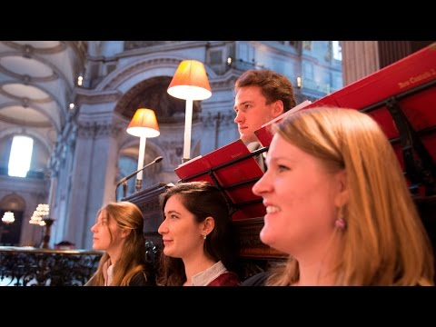 nunc - The Choir of Somerville College, Oxford David Crown (conductor) Robert Smith (organ) Stephen O'Driscoll (baritone) Evensong at St. Paul's Cathedral (London),...