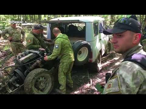 Бурштиновий рейд на Рівненщині: як поліцейські старателів розганяли  [ВІДЕО]