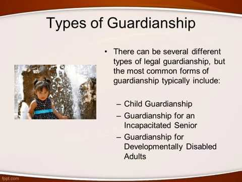 how to obtain legal guardianship
