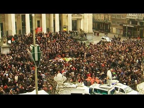 Βρυξέλλες: Ενός λεπτού σιγή στη μνήμη των θυμάτων