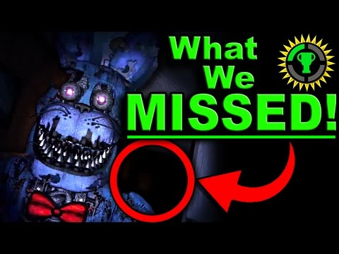Game Theory: FNAF, The Clue that SOLVES Five Nights at Freddy's!