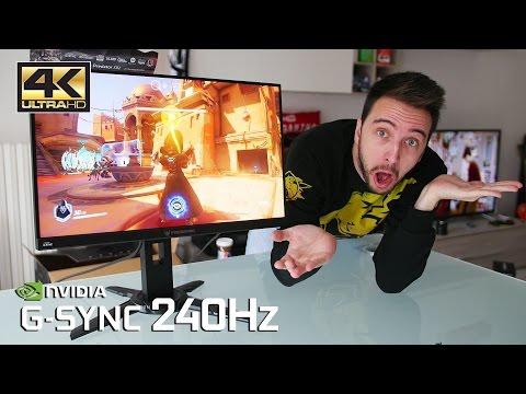 Il nuovo miglior monitor da gaming al mondo? - Acer XB2 240hz G-sync