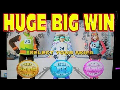 Snow Stars ** HUGE BIG WIN JACKPOT ** New White Winter Slot Machine Winner