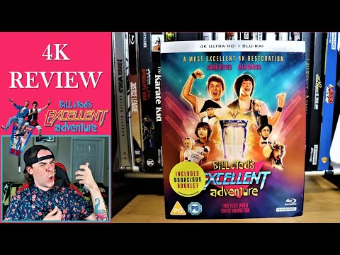 Bill & Ted's Excellent Adventure 4K Ultra HD Blu-Ray REVIEW
