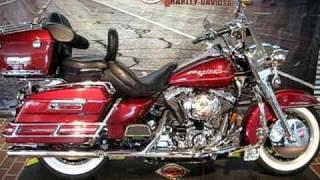 9. 2000 Harley-Davidson Road King FLHRI Luxury Rich Red