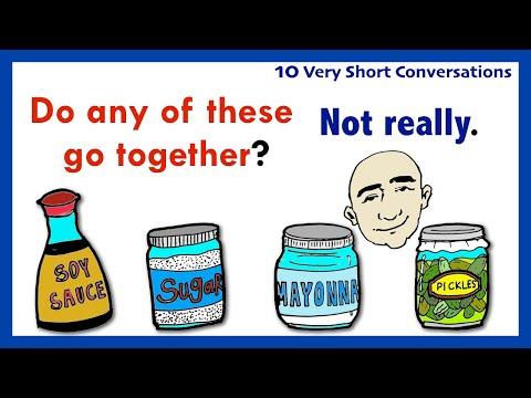 Frases cortas - 10 Very Short Conversations  Set 25  English Speaking Practice  ESL  EFL