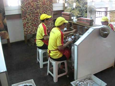 Cigarette Sweatshop in Indonesia