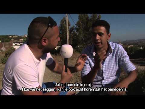Salaheddine in Marokko 2014 - Jebliaans leren
