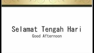 A short overview of Malay Vowels Pronounciation. Also simple vocabulary. Learning how to say (Good) Morning, Afternoon, Night in Malay. Brief description of ...