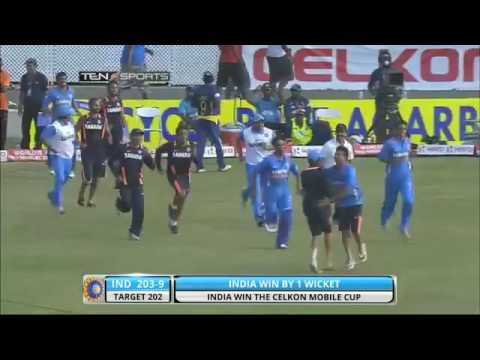 DHONI The Best Finisher Last Over Victory India Vs Srilanka