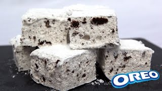 Marshmallows maison goût Oreo