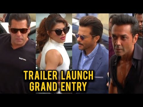 Race 3 Trailer Launch | Salman, Anil, Jacqueline,