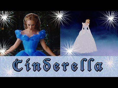 ♛ Cinderella 1950 & 2015 ♛
