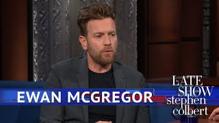 Video Ewan McGregor Dishes On Co-Star Winnie The Pooh MP3, 3GP, MP4, WEBM, AVI, FLV Maret 2019