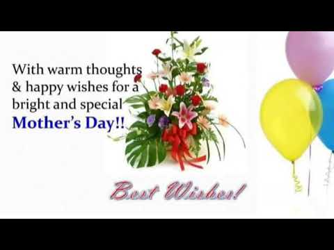 Happy quotes - Happy Mother's day 2018/Mothers day greeting/ Mothers day Quotes/ Mothers day wishes/ WhatsApp massa