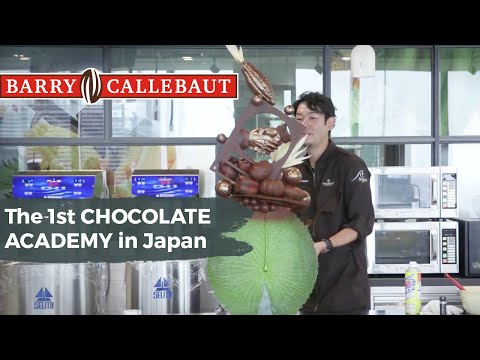 Opening Of Barry Callebaut's 19th CHOCOLATE ACADEMY Center In Tokyo Japan