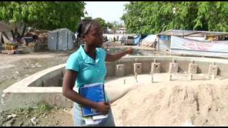 UNICEF correspondent Thomas Nybo reports on the story of Christine, 14, who continues to attend school in Haiti even though...