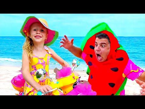 Nastya e a história sobre sorvete e limonada