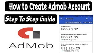 how to create admob account - 2017 step by step