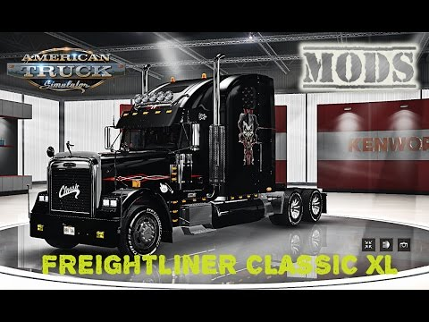 Freightliner Classic XL edited ATS by Solaris36 v2