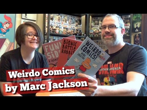 Weirdo Comics by Marc Jackson