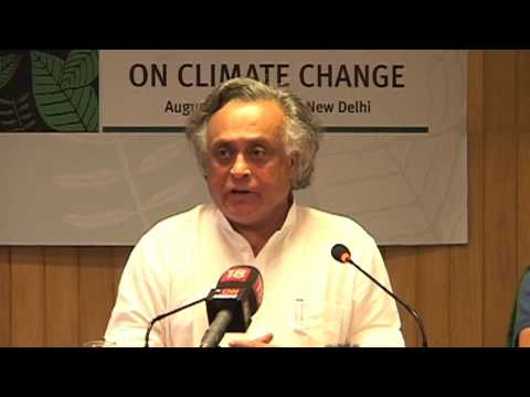Jairam Ramesh on climate change and regional cooperation in South-Asia