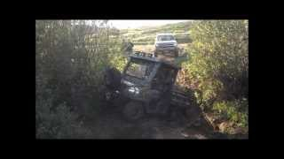 3. 4x4 Diesel Kubota Extreme Offroading in Deep Hole