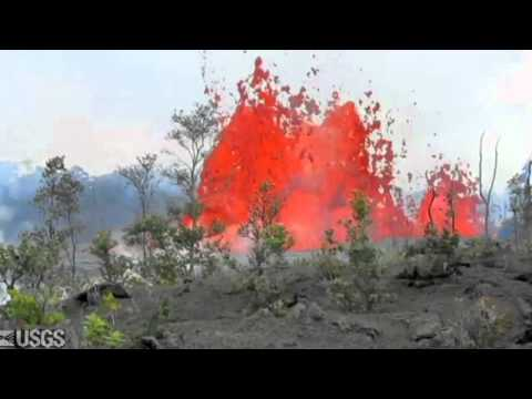 Hawaii Volcano - 2011 Kamoamoa Fissure Eruption, Six Months Later