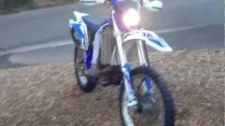 6. 2005 Yamaha WR450F